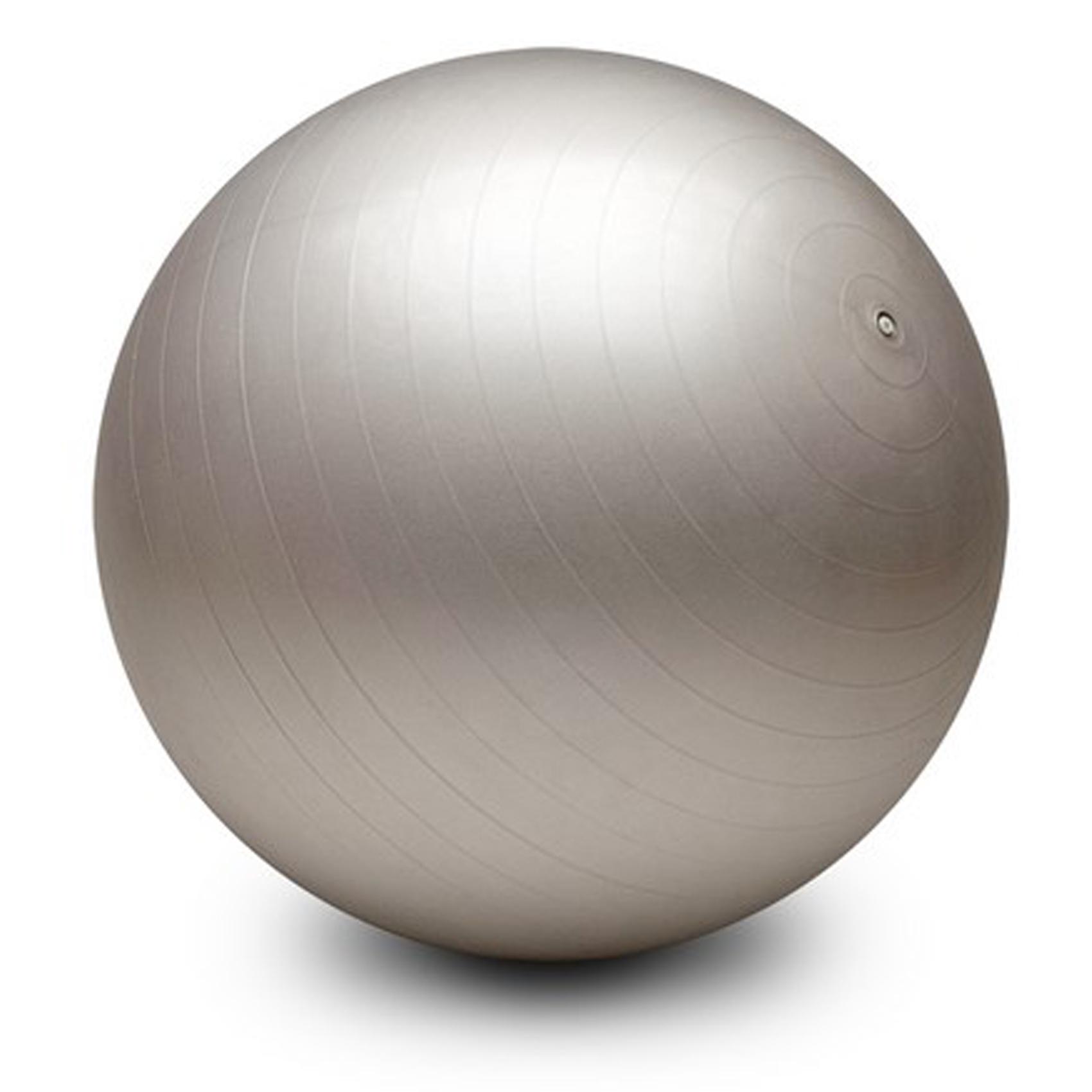 gymnastikball sitzball fitnessball b rostuhl yogaball 65cm farbe silber sg 042 ebay. Black Bedroom Furniture Sets. Home Design Ideas