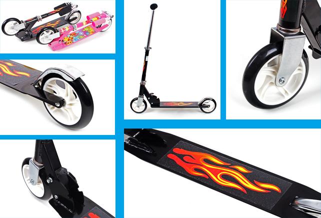 kinderroller tretroller scooter kinder roller cityroller. Black Bedroom Furniture Sets. Home Design Ideas