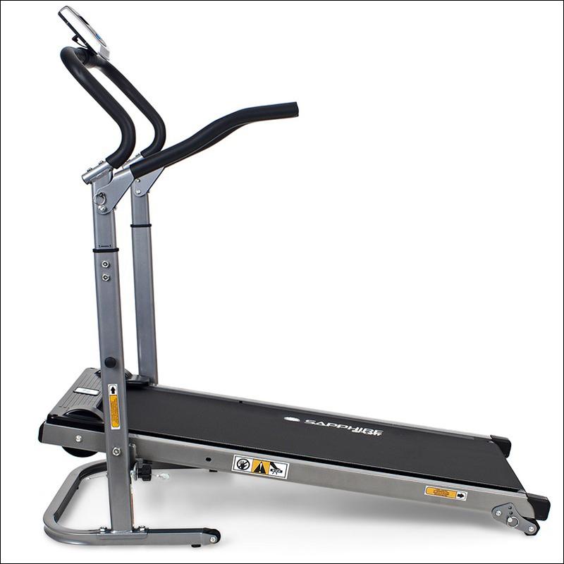laufband fitnessger t heimtrainer lcd display sapphire sg. Black Bedroom Furniture Sets. Home Design Ideas