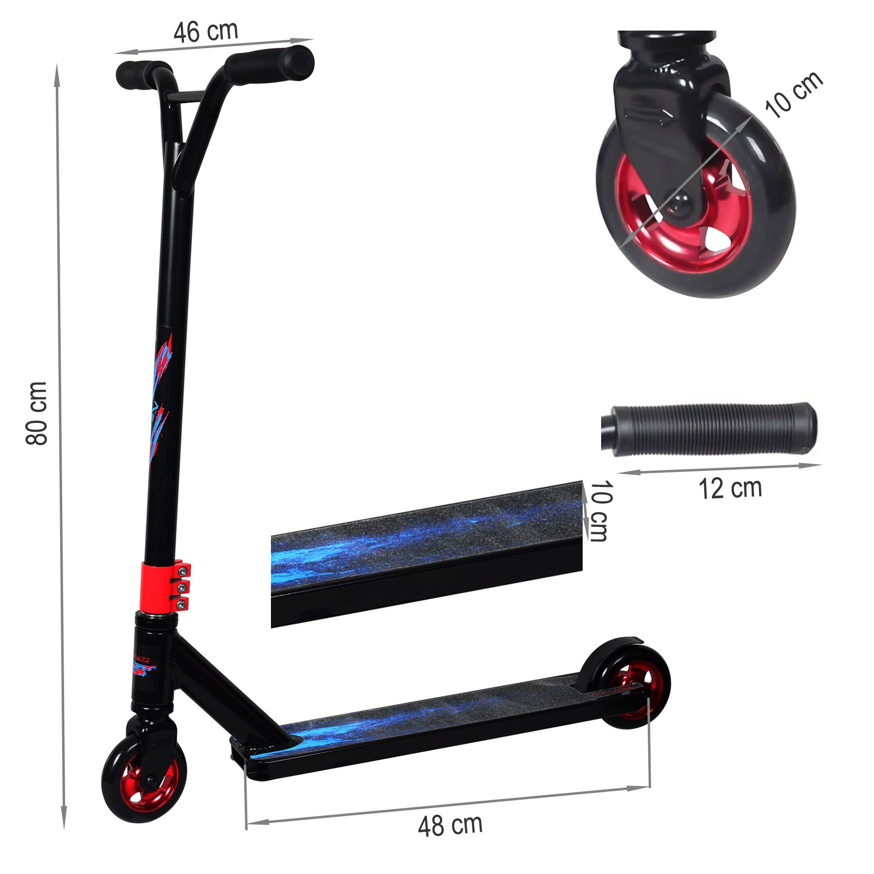 stunt scooter freestyle cityroller skateboard kickscooter. Black Bedroom Furniture Sets. Home Design Ideas