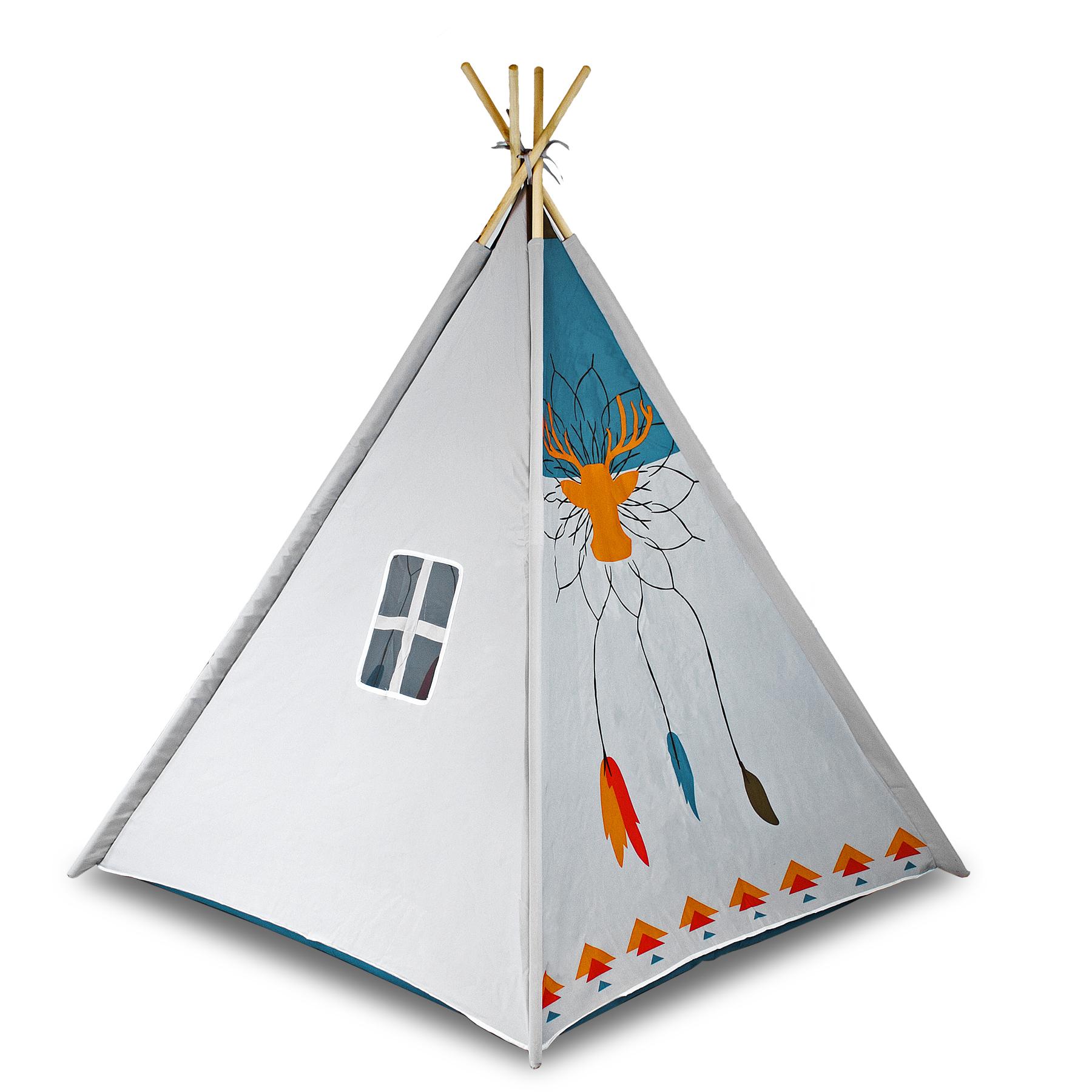 Kinderzelt tipi spielzelt indianer indianerzelt - Indianerzelt kinderzimmer ...