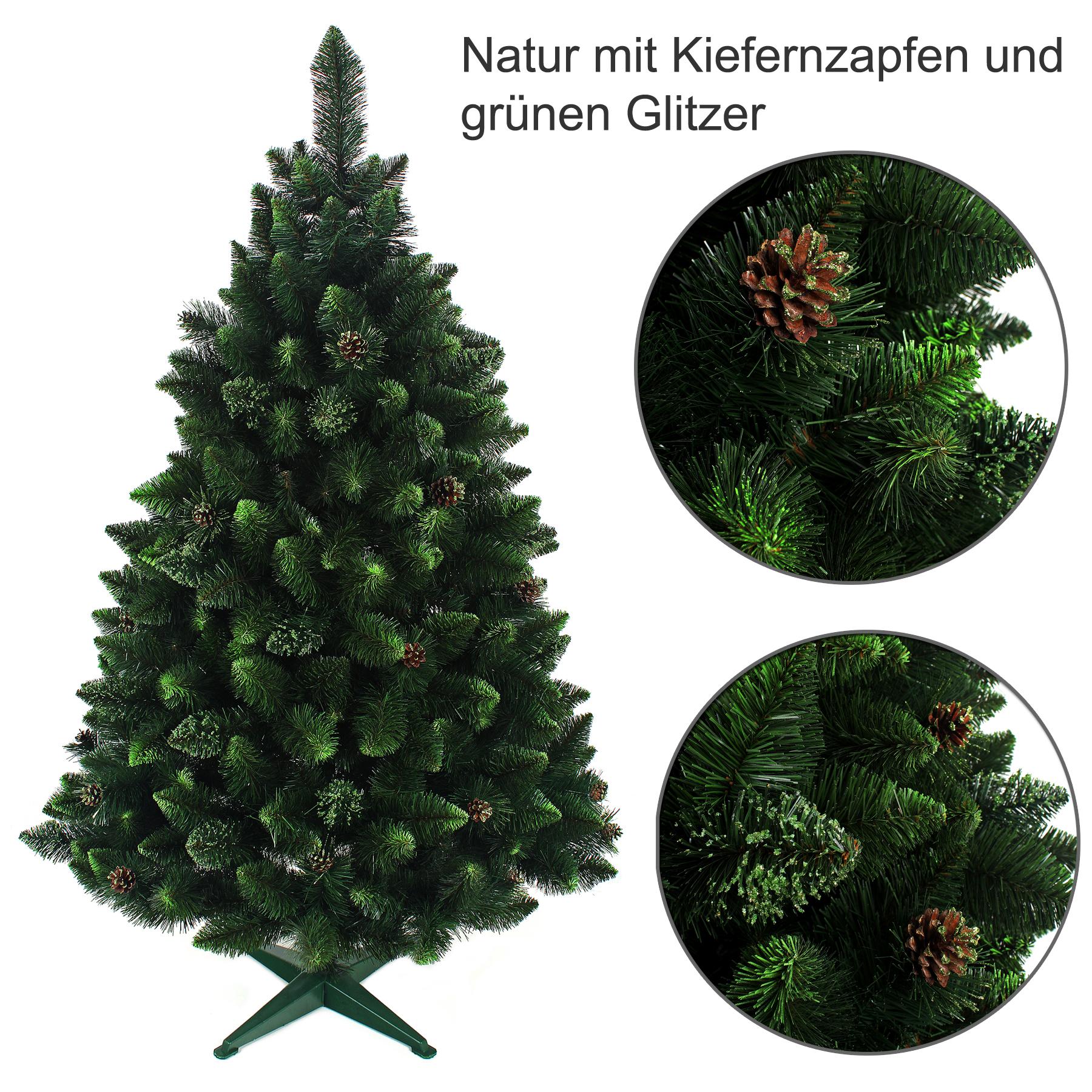 weihnachtsbaum k nstlich tannenbaum christbaum 160tanne. Black Bedroom Furniture Sets. Home Design Ideas